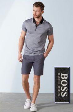 "HUGO BOSS ""Pitton"" Slim Fit Mercerised Cotton Polo Shirts NEW NWT  #HUGOBOSS…"
