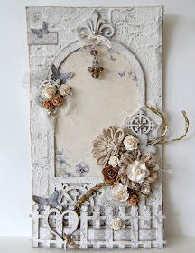 cards, tags - Imaginarium Designs: layout and wall hanging Altered Canvas, Altered Art, Vintage Cards, Vintage Paper, Shabby Chic Cards, Handmade Tags, Heartfelt Creations, Mixed Media Canvas, Card Tags