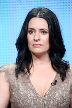 """Paget Brewster (2015) Born: Paget Valerie Brewster March 10, 1969 in Concord, Massachusetts, USA Height: 5' 8"""" (1.73 m)"""