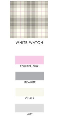 White Watch Tartan - IJP Design