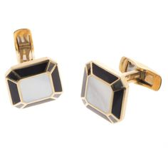 Gold Hair Colors, Men's Cufflinks, Public Holidays, Cufflink Set, Special Delivery, Royal Mail, Black Onyx, Friday, Pearl