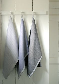 Make your own dishtowels (and a cool apron, too!). From the Purl Bee.....such a beautiful site!
