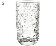 Wasserglas Fiorita, 6 Stück Jetzt bestellen unter: https://moebel.ladendirekt.de/kueche-und-esszimmer/besteck-und-geschirr/glaeser/?uid=a8271455-2681-5521-846a-16990b7ed8d1&utm_source=pinterest&utm_medium=pin&utm_campaign=boards #geschirr #kueche #glaeser #esszimmer #besteck