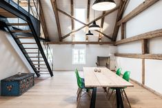 This Industrial Inspired Home In Germany Has Incredible Ceilings