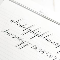 Saturday night's practice ✍ . . . . . #calligraphy #calligraphylove #calligraphyart #hkcalligraphy #calligraphyhk #flourishforum #flourishing #dippencalligraphy #moderncalligraphy #numbers #abc #rhodia #calligraphypractice #copperplate #thedailytype #handlettered #handwriting #handwritten #handlettering #handletteringpractice #script #letters #penmanship #obliquepen #typegang #typespire #hongkong #art #西洋書法 #手寫