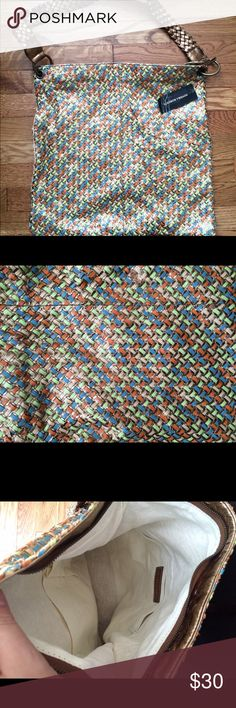 NWT SONDRA ROBERTS hobo *nwt *sondra Roberts brand *hobo colorful bag *no damage Sondra roberts Bags Hobos