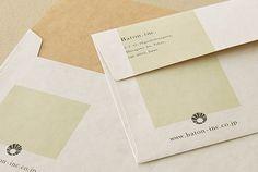 お客様の制作例 長3カマス封筒|ハグルマオンラインストア 封筒 カード 冊子 箱 タグ