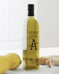 """""""The concept is based on a Greek mythology, according to which an olive tree gave people the goddess Atena (Athena). A symbol is crossed with a spear."""" Designed by Vladimir Pospelov Olive Oil Packaging, Cool Packaging, Food Packaging Design, Bottle Packaging, Packaging Design Inspiration, Olives, Olive Oil Brands, Olive Oil Bottles, Bottle Design"""