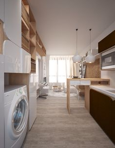 Huelsta Moebel Hulsta Furniture TAMETA Wohnwand Wall_combination Braunkernesche Weiss Light_brown_ash White 4  (3000×1988) | TV Stolek | Pinterest ...
