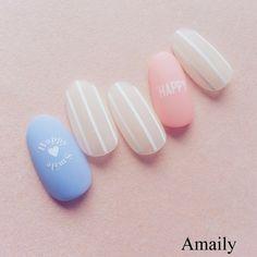 No.2-11 ホリデー白   amaily Glam Nails, Nude Nails, Acrylic Nails, Garra, Cute Nail Art, Nail Technician, Nail Care, Girly Things, Nail Art Designs