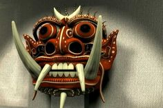 Jeremy Jozwik | 2008 Works | Barong Mask Traditional Balinese Mask with a twist of contemporary feel