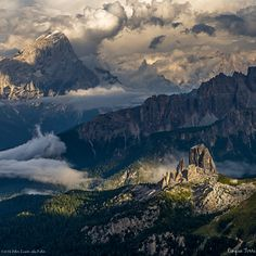Cinque Torri, Dolomites, Italy by Peter Luxem on 500px