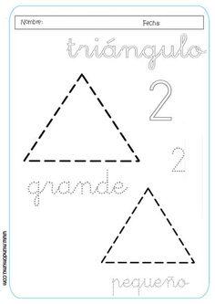 grafomotricidad triangulo - Buscar con Google
