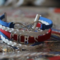 CubS world series 2017 bracelet jewelry gift playoffs baseball chicago wrigley field ship for xmas in stock by gracelibby7sports on Etsy https://www.etsy.com/listing/473835936/cubs-world-series-2017-bracelet-jewelry