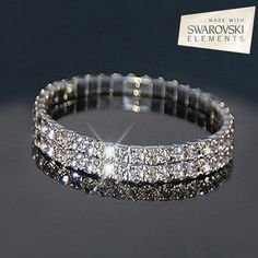 The brilliance of Swarovski Crystals. The perfect gift for Mom this Mother's Day - Swarovski Austrian Crystal Bracelet - Save 88% off only $10 now! Sale ends March 28 2015 @ 12:00 pm.