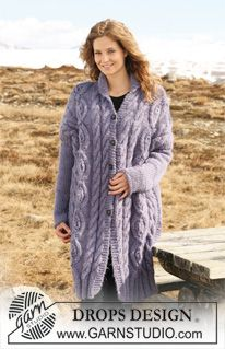 8d544ccc3c Purple Mountain   DROPS Extra 0-554 - Free knitting patterns by DROPS Design