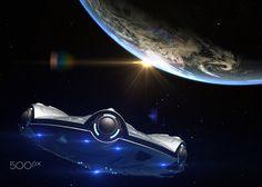 UFO headed toward Earth - UFO headed toward Earth