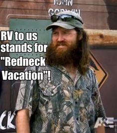 Jase Robertson on RVs.