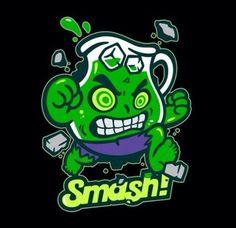 Koolaid man as the Hulk