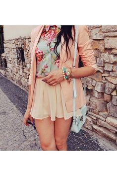 pale pastels floral