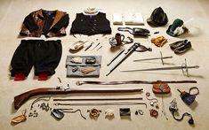 A evolução da bagagem de um soldado inglês de 1066 até hoje