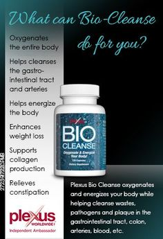 Cleaning from the inside out! :)  Part of the Plexus TriPlex (and can also be sold individually) and a definite for everyday use!