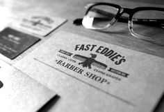 FFFFOUND! Fast Eddie's business card.