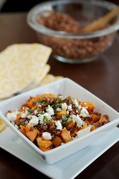 Sweet Potato and Quinoa Salad #vegeterian #recipe