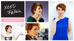Felicia Day cute short hair