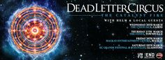 "Don't miss your chance to catch Dead Letter Circus playing hit after hit from Gold album ""This is the Warning"", their legendary self titled EP, and the #2 ARIA smash ""The Catalyst Fire"" as they venture north at MECC!  http://www.mackayecc.com.au/discover_whats_on/purchase_tickets_online/events/featured_events/dead_letter_circus"