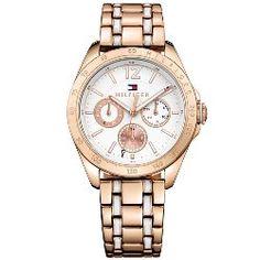 8f68eaff7f3 Relógio Tommy Hilfiger Feminino Aço Rosé - 1781666 Relógio Feminino