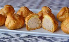 Foie gras and black truffle stuffed cream puffs recipe | D'Artagnan