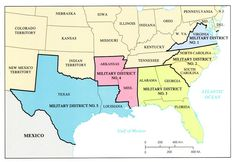 The south was put under military  control for a few years to help with reconstruction in the south.