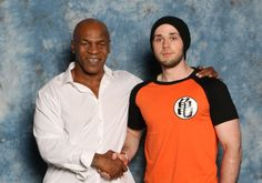 Meeting Mike Tyson At Fan Expo