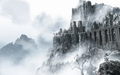 Image result for Spider mountain side fantasy