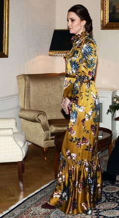 Kate Middleton Just Wore Her Most High-Fashion Look Ever and We Are Not Sure What to Think