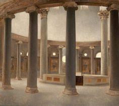 Vilhelm Hammershøi. Det indre af S. Stefano Rotondo i Rom. 1902
