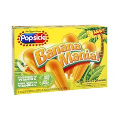 I'm learning all about Popsicle Banana Mania - 20 PK at @Influenster!