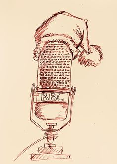 """24th December 1922 - The BBC broadcasts the first British radio play """"The Truth about Father Christmas"""". NB: Arthur Burrows, who read the play, was a keen wireless enthusiast. Prior to joining the BBC he was in charge of the original experimental transmissions from Marconi House (see our 12th December fact for more details)."""