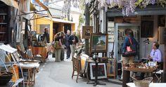 10 Lojas, mercados e feiras em Paris na França #viajar #paris #frança