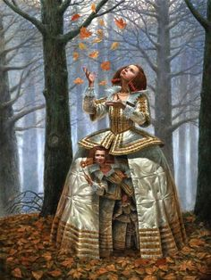 ✯ Enigma of the Generations :: Artist Michael Cheval ✯