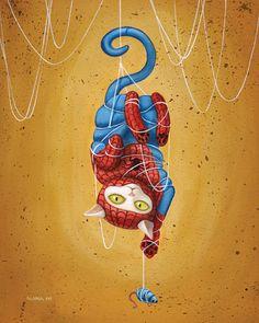 Pinzellades al món: Supergats: il·lustracions dAlana McCarthy / Supergatos / Supercats: illustrations of Alana McCarthy