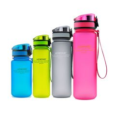 1000ML 650ML 550ML 350ML Eco-Friendly Portable Water Bottles Scrub Coffee Tea Milk Space Cup Climbing Hiking Outdoor Bottle