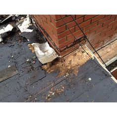 Water & Wood Rot in valley's