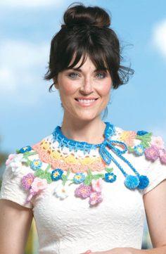 Reserva rápida do crochê Colar -  /       Quick crochet Reserve Necklace -