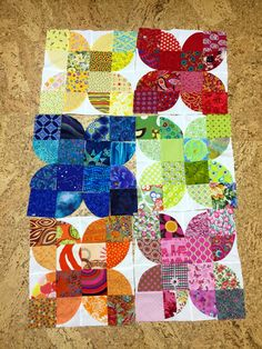 Modern Quilt Patterns, Quilt Block Patterns, Quilt Blocks, Cute Quilts, Scrappy Quilts, Baby Quilts, Jersey Quilt, Drunkards Path Quilt, Turtle Quilt