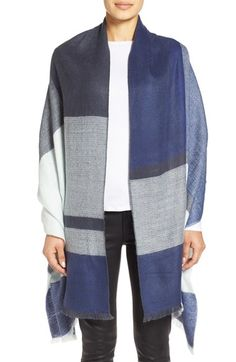 Halogen® Plaid Scarf available at #Nordstrom