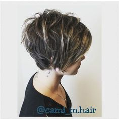 """Long pixie, layers [   """"Pixie 