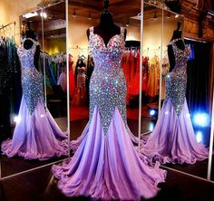 Shine On Me Prom Dress - Purple - JUICYWARDROBE