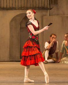 """Sarah Lamb as """"Kitri"""", """"Don Quixote"""" choreography by Carlos Acosta, The Royal Ballet (2013)"""